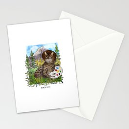 Bobcat Ross Stationery Cards