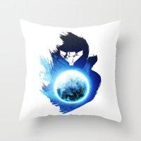 Metroid Prime 3: Corruption Throw Pillow