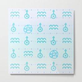 Pastel Aquarius Metal Print