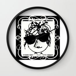 POUE Wall Clock