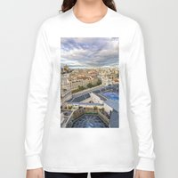 madrid Long Sleeve T-shirts featuring Madrid by Solar Designs