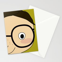 me and my brother. we are twins Stationery Cards