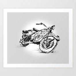 Bike 1 Art Print