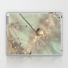dandelion mint Laptop & iPad Skin