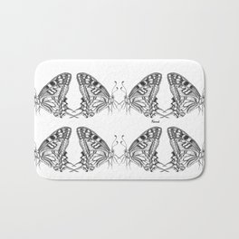 Butterfly Papilio Machaon Bath Mat
