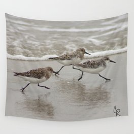 Sandpipers Wall Tapestry