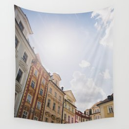 Old Town Square, Prague Wall Tapestry