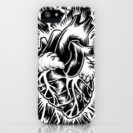 Electric Heart iPhone Case