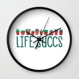 Life Succs Wall Clock