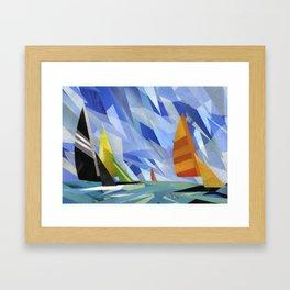 Les Voiles Framed Art Print