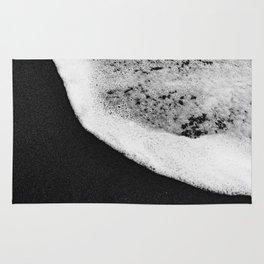 Black Sand / Landscape Photography Rug