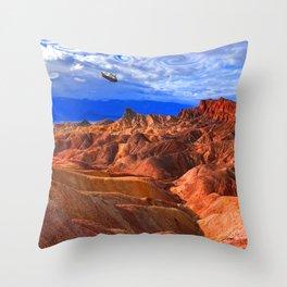 Wormholes Throw Pillow