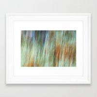 the flash Framed Art Prints featuring Flash by Angela Fanton