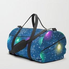 Christmas background Duffle Bag