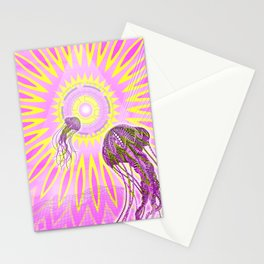 Multidimensional Medusas on godspeed Stationery Cards