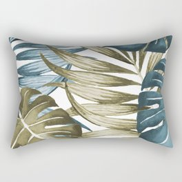 TROPICAL LEAVES 5 Rectangular Pillow
