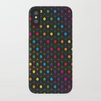 records iPhone & iPod Cases featuring disco records by kociara