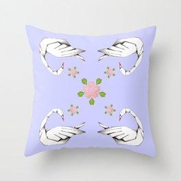 iloveswan simetria Throw Pillow