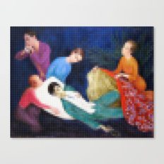 Lego: The Dying Dandy Canvas Print