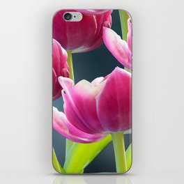 Tulip Bouquet Spring Atmosphere #decor #society6 #buyart iPhone Skin