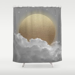 Nothing Gold Can Stay Shower Curtain