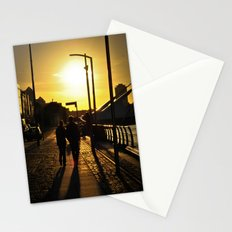 Couple's walk Stationery Cards