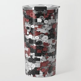 Photographer's camouflage Travel Mug