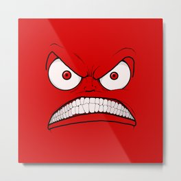Emotional Angry Monday - by Rui Guerreiro Metal Print