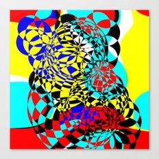 Color Bomb  Canvas Print