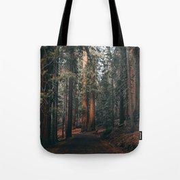 Walking Sequoia Tote Bag