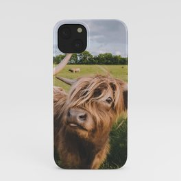 Highland Cows - Blep iPhone Case