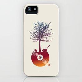 Vinyl Tree 2 iPhone Case