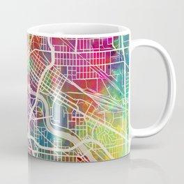 Minneapolis Minnesota City Map Coffee Mug