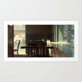 Diner V2 Art Print