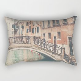 wandering the streets of Venice ... Rectangular Pillow