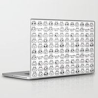 puppies Laptop & iPad Skins featuring Marshmallow Puppies! by Carina Soares