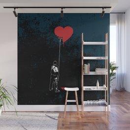 Heart Painter Graffiti Love Wall Mural
