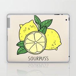 Sourpuss (colourised) Laptop & iPad Skin