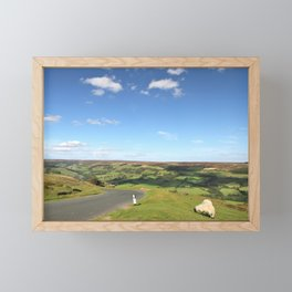 Driving through the English Countryside Framed Mini Art Print