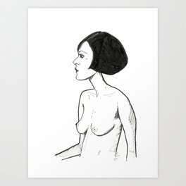 A Simple way Art Print