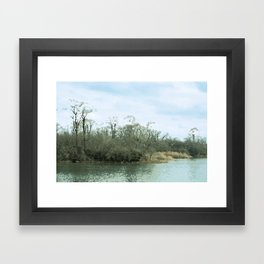 Lake Scene Framed Art Print