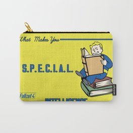 Intelligence S.P.E.C.I.A.L. Fallout 4 Carry-All Pouch