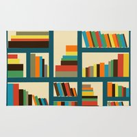 library Area & Throw Rugs featuring library by vitamin