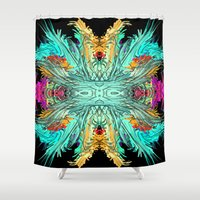 elf Shower Curtains featuring Woodland Elf by North 10 Creations