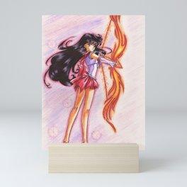 Sailor Mars - Fire Attack Mini Art Print