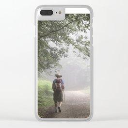 Camino to Santiago de Compostela Clear iPhone Case