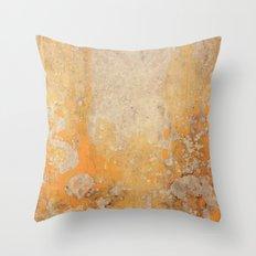 Fire Skull I Part I Throw Pillow