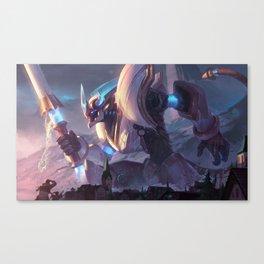 Lancer Stratus Wukong League Of Legends Canvas Print