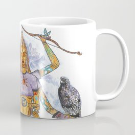 Modern Goddess Tools - Sexy Eight Armed Blonde Coffee Mug