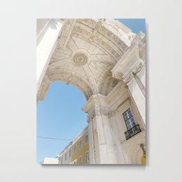Arco da Rua Augusta, Lisbon, Portugal Metal Print